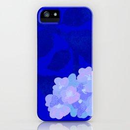 heavy hopeful hydrangeas iPhone Case