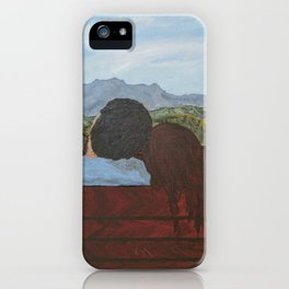 Love in the Mountains iPhone Case
