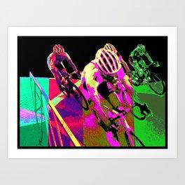 Zombie Breakaway Art Print
