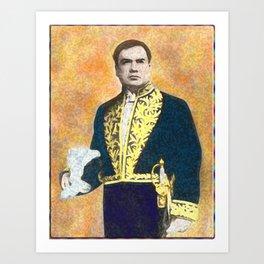 Rubén Darío (1867-1916) Art Print