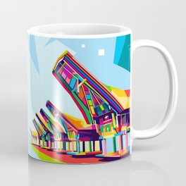 Toraja Land In Pop Art Coffee Mug