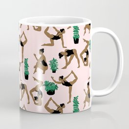 yoga with plants Coffee Mug
