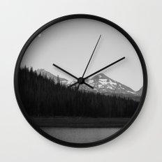 Hand Lake Wall Clock