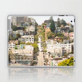 Climbing Hills in San Francisco Laptop & iPad Skin