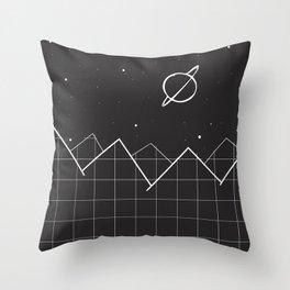 Grid Evening Throw Pillow