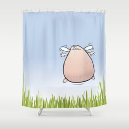 Too Fond Of Fairy Cakes Shower Curtain