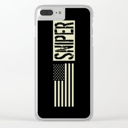 U.S. Military: Sniper Clear iPhone Case