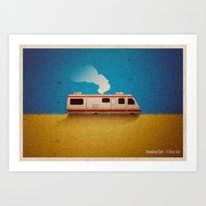 Breaking Bad - 4 Days Out Art Print