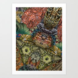 Psychedelic Botanical 1 Art Print