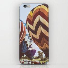 Hot Air Balloon Festival iPhone Skin