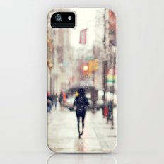 Snowing in the City Slim Case iPhone (5, 5s)