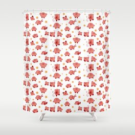 Kirby Pattern Shower Curtain