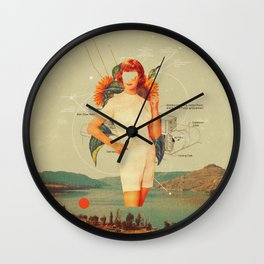 SunflowerMiss Wall Clock