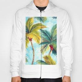 Palm Tree Allover Hoody