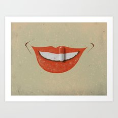 Chemical happiness Art Print
