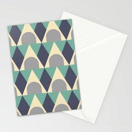Elegant Art Deco Geometric Pattern 328 Stationery Cards