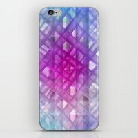 grid iPhone & iPod Skins featuring Grid by Christine baessler