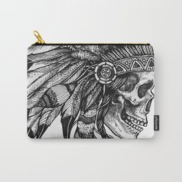 Native Skull Carry-All Pouch