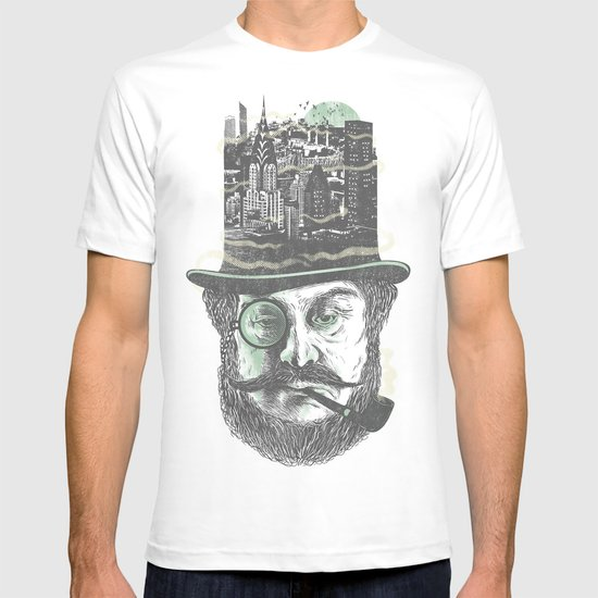 Old man hatten T-shirt