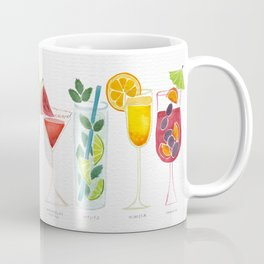 Summer Cocktail Trio Coffee Mug