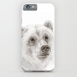 Grizzly :: A North American Brown Bear iPhone Case