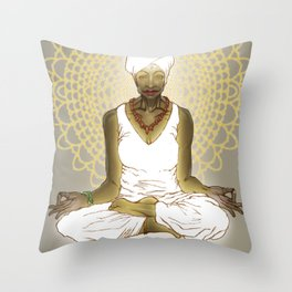 Womb Peace Throw Pillow