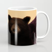 beard Mugs featuring Beard by Triplea