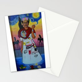 Frida-Basquiat-Van Gogh-Keith Haring-Claude Monet-Dali-Picasso Mesh Stationery Cards