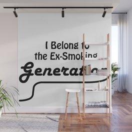 Ex-Smoking Wall Mural