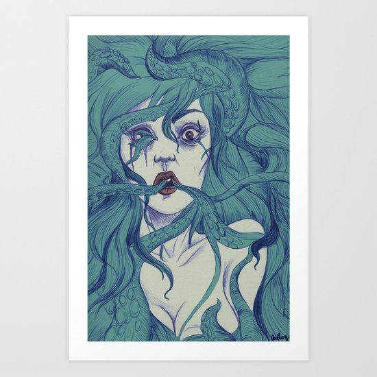 Octopus S.Y. Art Print