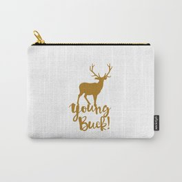 Young Buck Cool Hipster Swag Carry-All Pouch