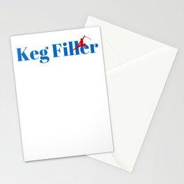 Top Keg Filler Stationery Cards