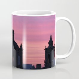 Cotton Candy Skies & Church Steeples Coffee Mug