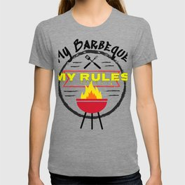 My BBQ My Rules Grilling Fun Barbeque T-shirt