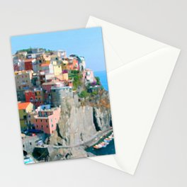 Italy. Cinque Terre - Cliffside Stationery Cards