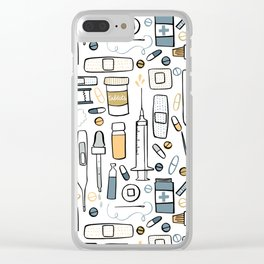 First aid kit Clear iPhone Case