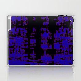jitter, black blue, 3 Laptop & iPad Skin