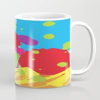graffiti Mugs featuring Graffiti by rivercbishop