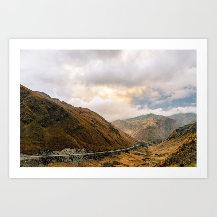 Andean Road Art Print
