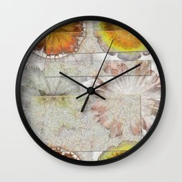 Jamoke Layout Flower  ID:16165-022406-67031 Wall Clock
