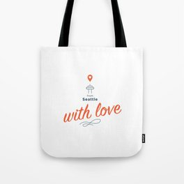 From Seattle With Love Tote Bag