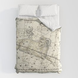 Aries Constellation Celestial Atlas Plate 13 Comforters
