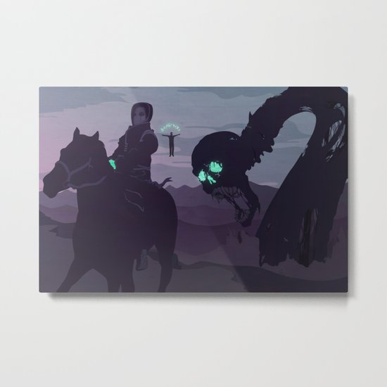 II. Agents and Shadows of the Abyss Metal Print