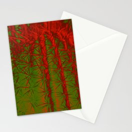Cacti Abstract II Stationery Cards