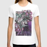 feminism T-shirts featuring Feminism 2 by Alaska Ferreira