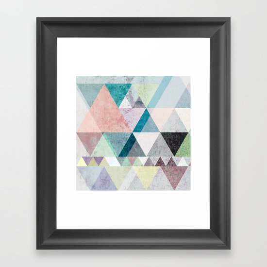 Graphic 21 Framed Art Print