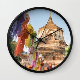 Yee Peng Lantern Festival Wall Clock