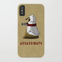 dalek iPhone & iPod Cases featuring Assassin's Dalek by mikaelak