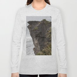 Pancake rocks New Zealand Long Sleeve T-shirt