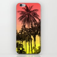 tropical iPhone & iPod Skins featuring palm tree  by mark ashkenazi
